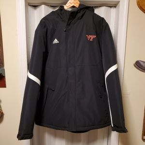 Adidas Virginia Tech Climaproof Jacket Coat XXL